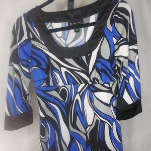 Ladies multi color blouse